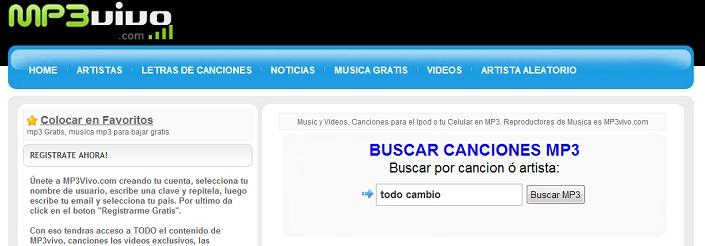 Descarga Musica para tu Celular gratis.
