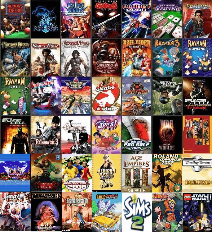 descargar juegos para sony ericsson w200