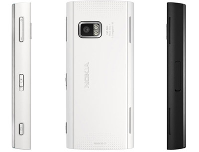 nokia x6 backside