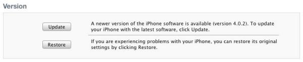 actualizacion de apple