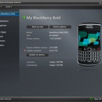 blackberry desktop manager 6.0