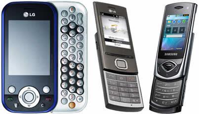 samsung-lg-nuevos celulares
