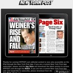 The New York Post ya cobra por el acceso a su aplicación del Ipad
