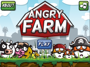 Angry Farm una Alternativa de Angry Birds para blackberry