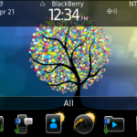 BlackBerry Exclusive Spring Theme  Spring Blossom