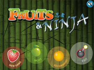Fruit and Ninja Blackberry