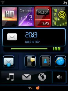 Temas para BlackBerry – Exodus