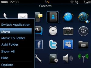 Temas para BlackBerry – Exodus 2