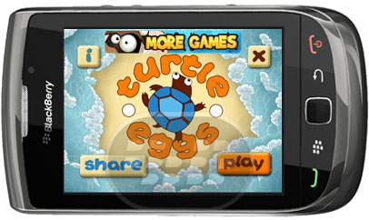 Turtle Eggs Blackberry Games
