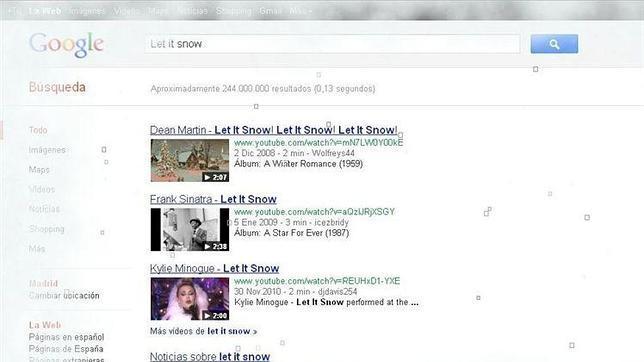 nuevo truco de google