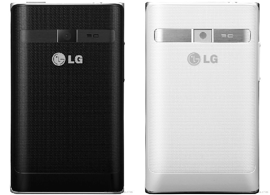LG Optimus L3, disponibles en los colores blanco y negro