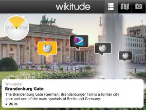 Wikitude para Blackberry