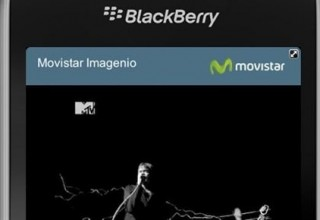 Movistar imagenio, ahora disponible en BlackBerry