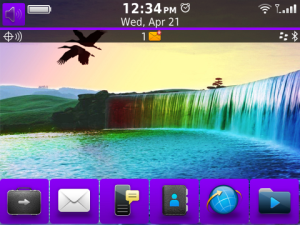 nuevo tema Blackberry