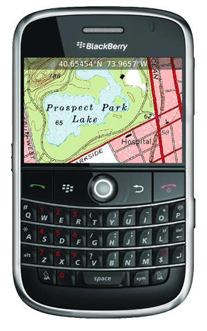 Blackberry Maps, guía tu camino