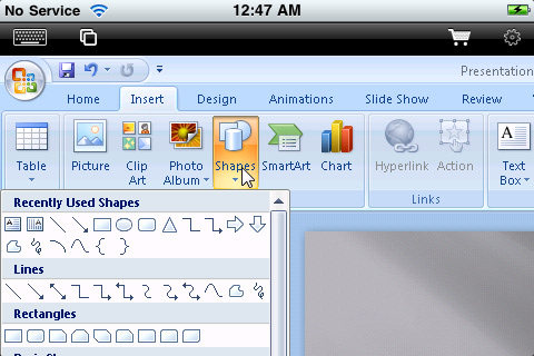 Escritorio remoto iPad