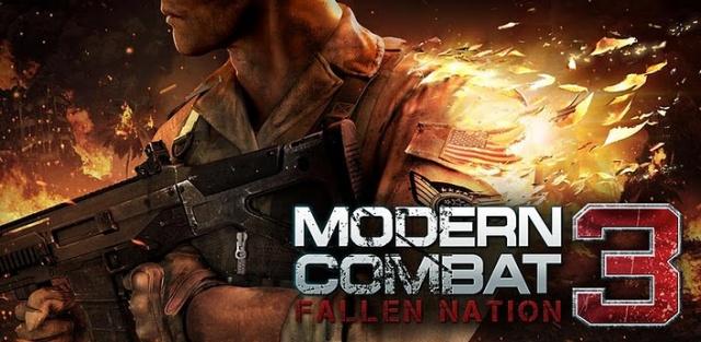 Modern Combat 3, ahora completamente gratis para tu Samsung Galaxy S II