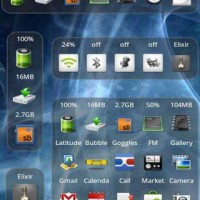 Samsung Galaxy 3 I5800 theme