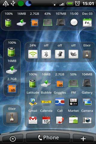 Samsung Galaxy 3 I5800 theme