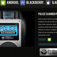 scaner de señal de policia