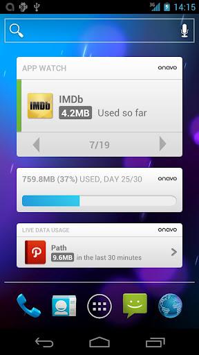 Onavo - controlar consumo de datos en android