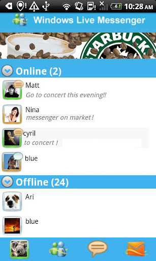 Live Messenger para Android