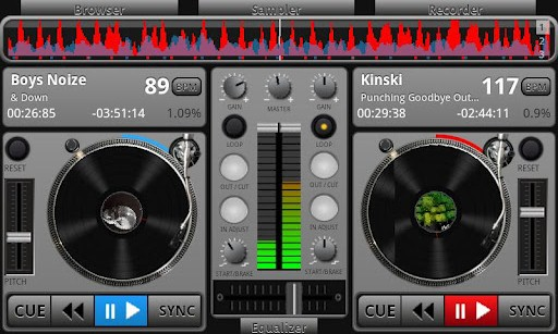 Virtual DJ para Android