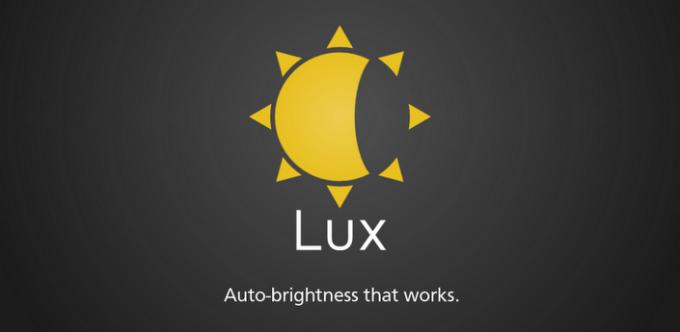 Lux Auto Brightness