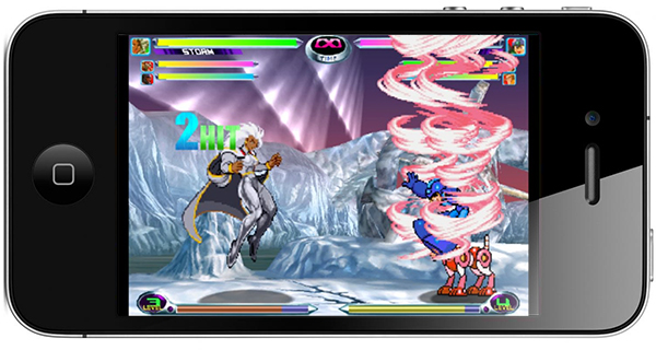 Marvel VS. Capcom 2 iphone ipad