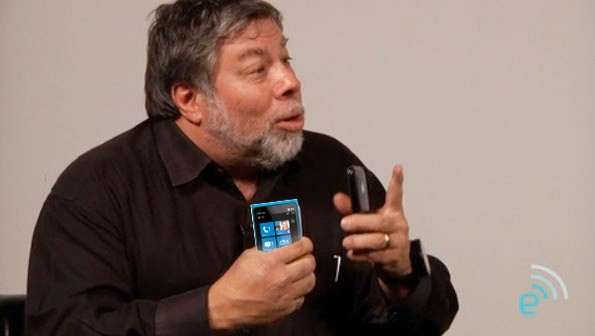 Steve Wozniak windows phone