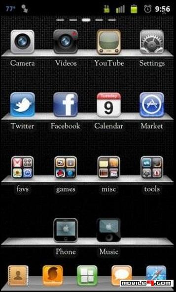 temas para Samsung Galaxy Fit S5670