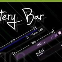 Battery Bar, descarga gratis en tu dispositivo Android