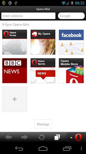 Mini Opera para Android