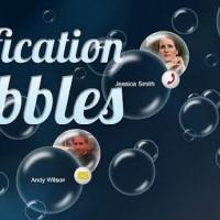 Notification bubbles