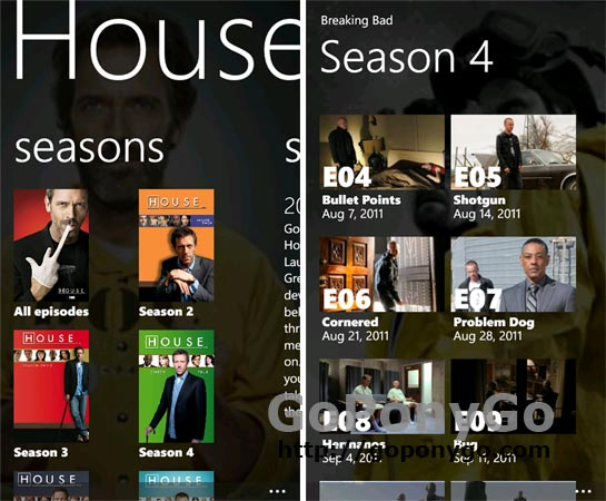 Plex para Windows Phone