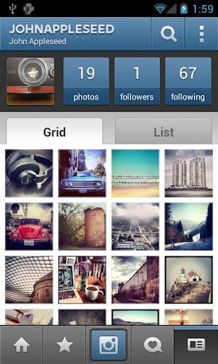 Instagram para Android 3