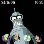 Tema Futurama For Moto RAZR 12