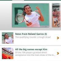 Roland-Garros 2012 disponible para Android