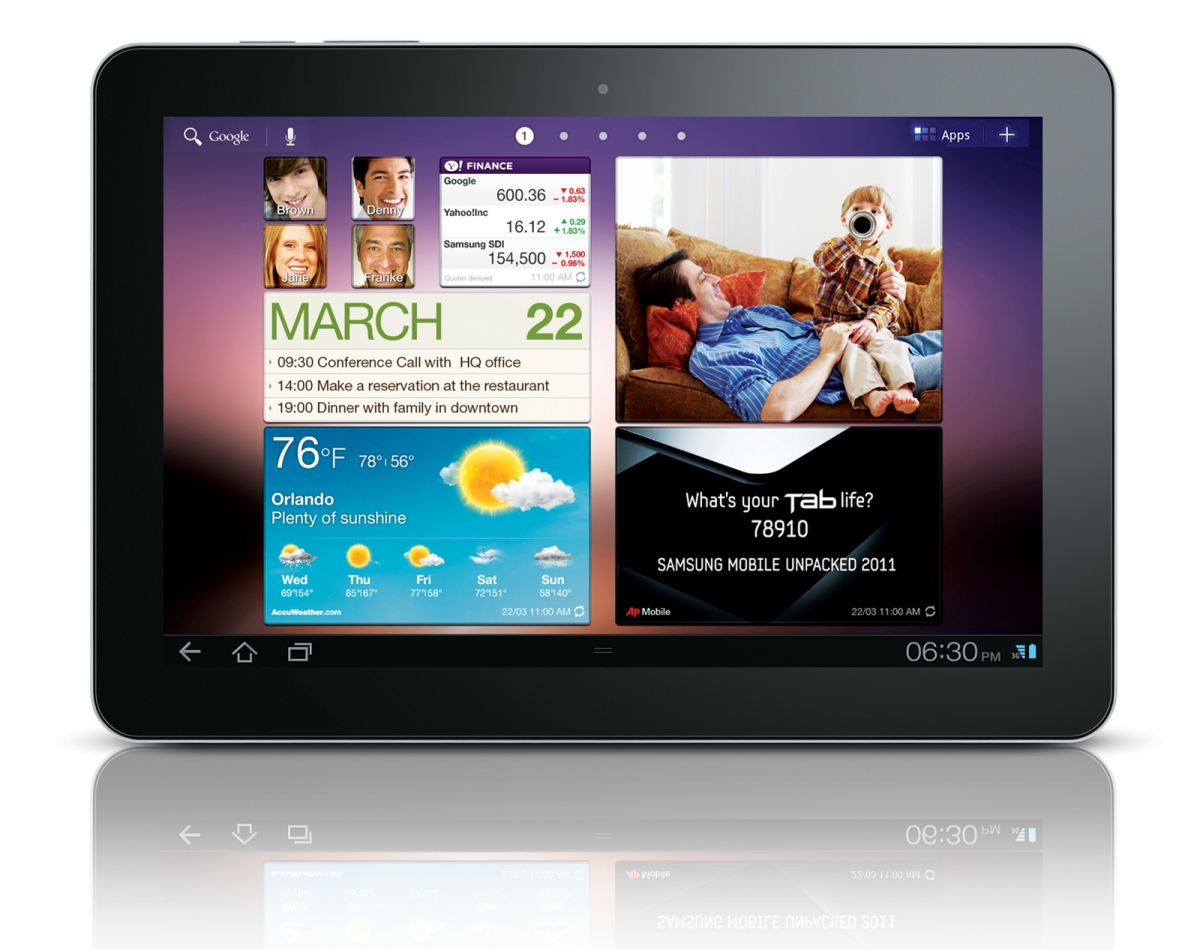 Temas para Samsung Galaxy Tab