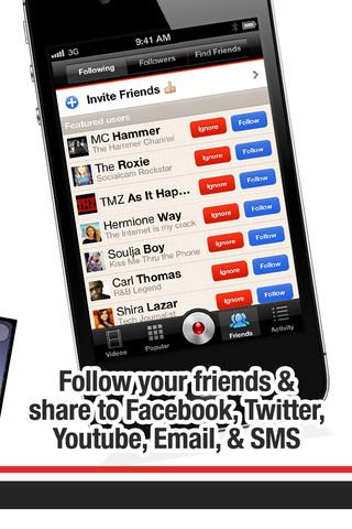 SocialCam para iPhone