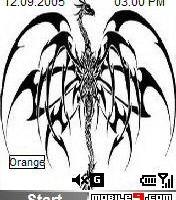 tema drawn dragon