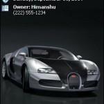 Tema auto motivo Bugatti