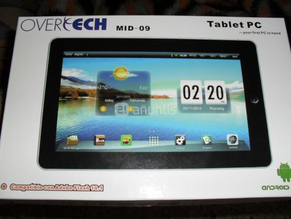 Manual Tablet Android Overtech MID 9