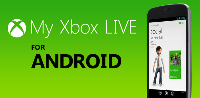 My Xbox LIVE disponible para Android