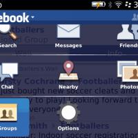 Facebook 3.1.0.16 a Blackberry
