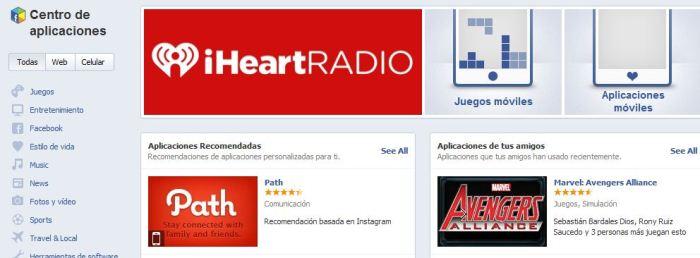 facebook-aplicaciones