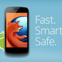 nueva versión Firefox para Android