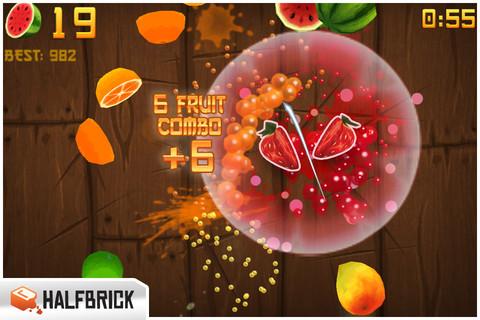 Fruit Ninja para iPhone