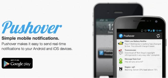 Pushover recibe todas tus notificaciones en tu Android
