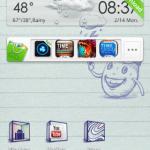Tema Doodlebook Go Launcher